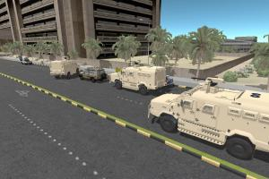 Military Simulators - Driving Simulation