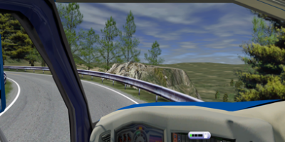 ECA GROUP - SIMULATION - EF TRUCK NG SIMULATOR - road view screen 8