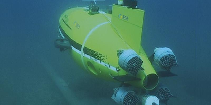 Alistar 3000 / AUV / Autonomous Underwater Vehicle