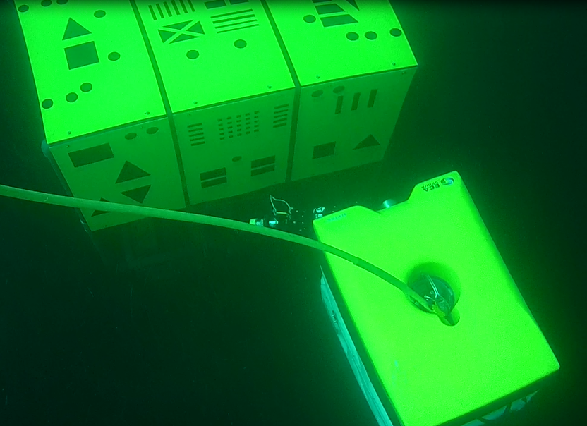 Subsea inspection using H300 ROV controlled from the shore through the USV