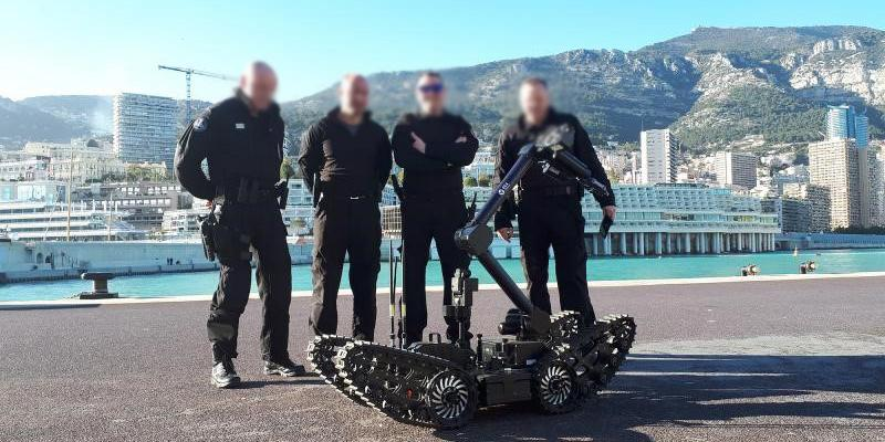ECA Group supplies its UGV IGUANA E to the Public Security of Monaco