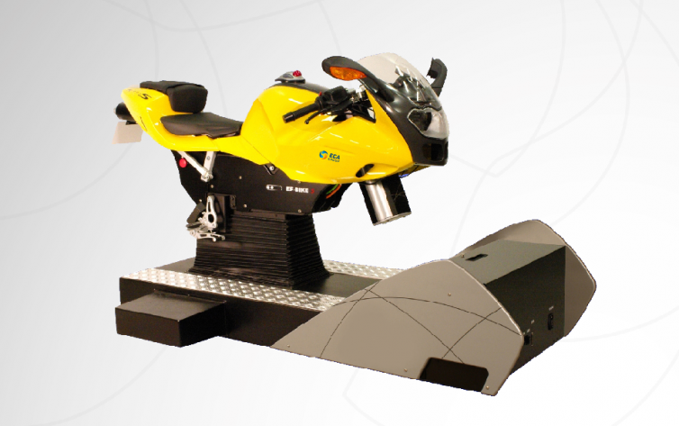 ECA Group Motorcycle Simulator