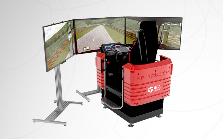 ECA Group Truck Driving Simulator