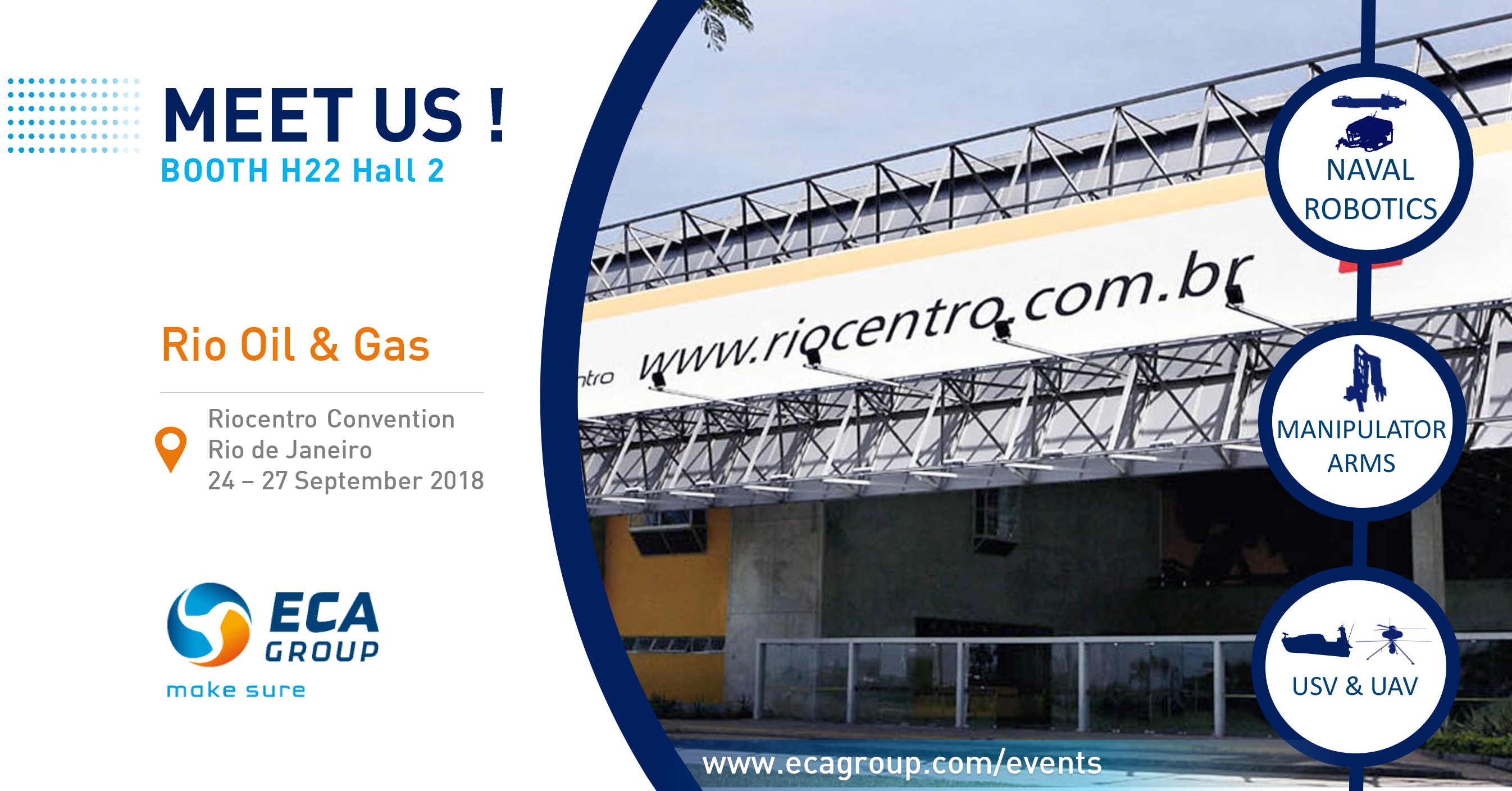 MEET ECA Group at RIO OIL AND GAS 2018
