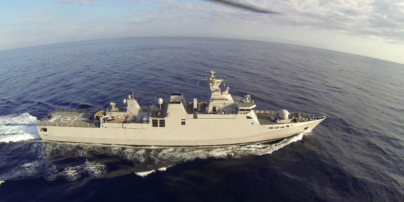 STERNA flies for Indonesian Navy - The first Magnetic Measurement Mission by UAV