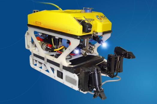 ECA-Group-ROV-H800-WITH-2-ELECTRIC-5-FUNCTION-MANIPULATOR-ARMS-ON-SKID