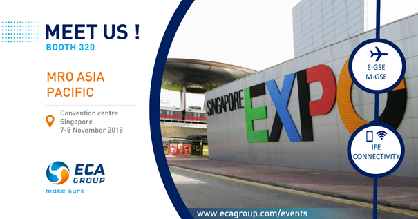 ECA Group at MRO ASIA 2018