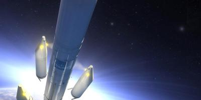 ECA Group - equipped solid rocket on Ariane 6