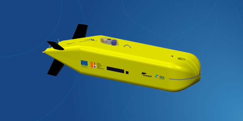 A6K / AUV / Autonomous Underwater Vehicle