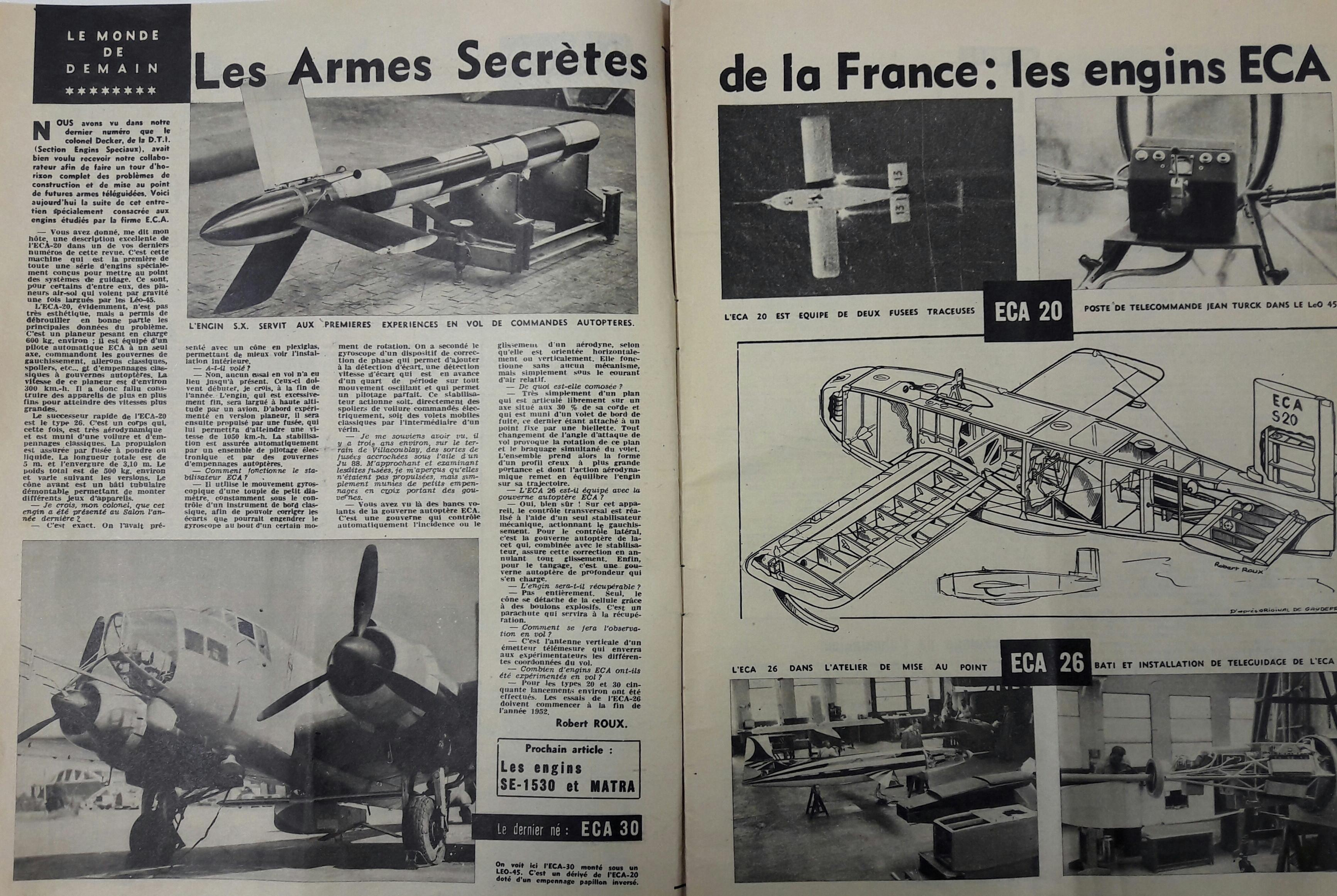 ECA GROUP-TIMELINE- LES ARMES SECRETES DE LA FRANCE - LES ENGINS ECA