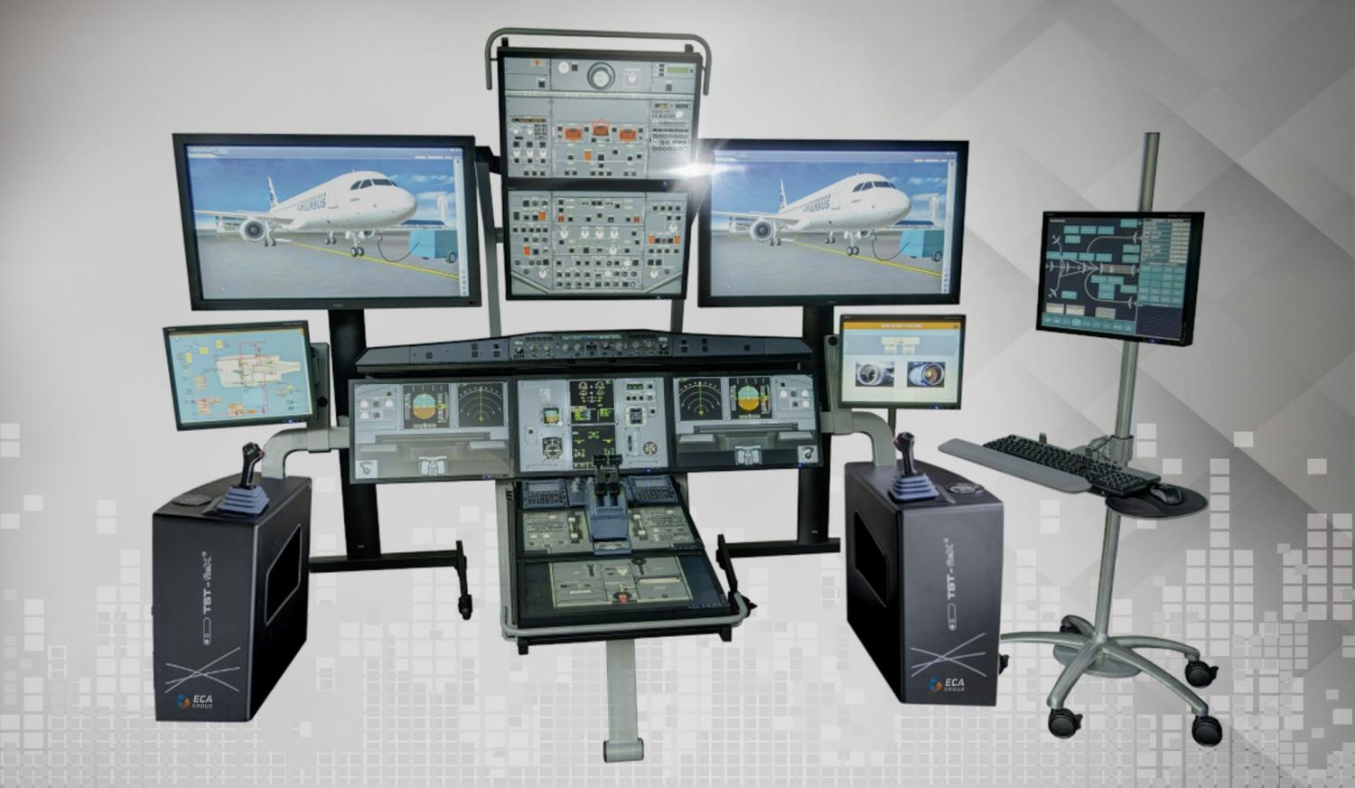 ECA Group Maintenance Touch Screen Trainer
