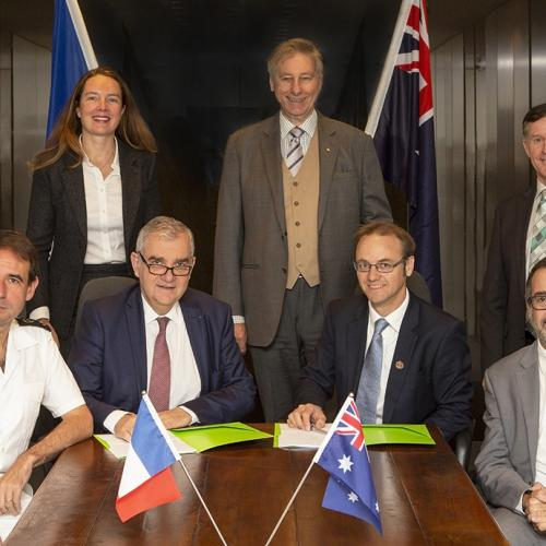 AMOG & ECA GROUP form French-Australian Joint Venture to win the Navy technology deal SEA 1350