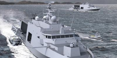 BELGIUM NAVAL AND ROBOTICS - MCMV SHIPS