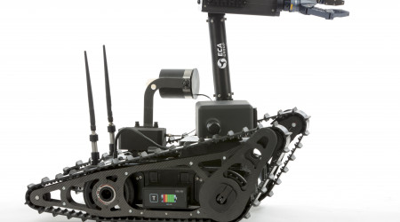 ECA GROUP awarded two new contracts for ground robots, for more than €3 million – first successes for the CAMELEON LG robot in Canada and France