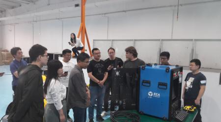 ECA GROUP trains its ROV users in China