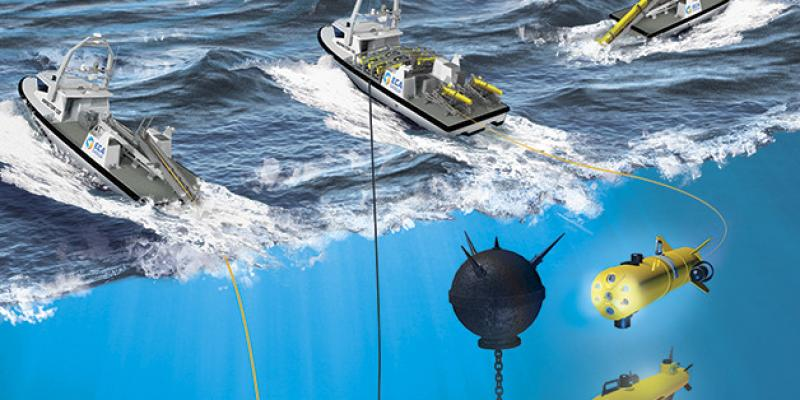 The Netherlands Ministry of Defence placed an order for a drone system within the Mine Countermeasures capability replacement of the Royal Netherlands Navy