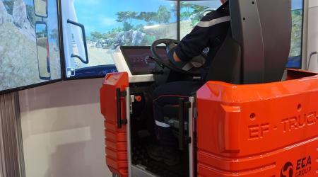 ECA GROUP-NEWS - OFF-ROAD DRIVING TRAINING MODULE - FIREFIGHTER DRIVING