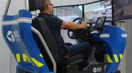 ECA GROUP-NEWS - PURSUIT DRIVING TRAINING MODULE - POLICE DRIVING