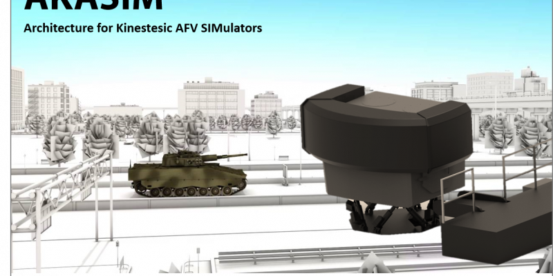 ECA Group and GDI Simulation announce their partnership in a joint offer for Armoured Fighting Vehicle (AFV) Training Systems: the AKASIM