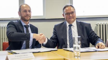 ECA Group  signs new plant in ©PortOostende