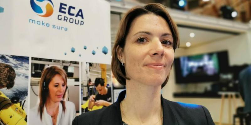 Delphine Sarrazin appointed as Human Ressources Director for the Robotic department of ECA GROUP