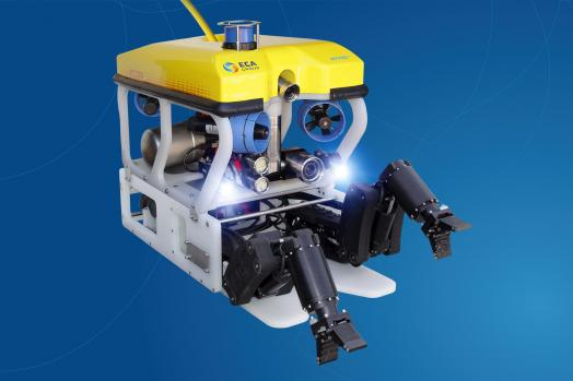 ECA-Group-ROV-H300V-WITH-TWO-MANIPULATOR-ARMS-ON-SKID