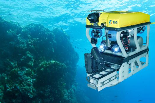 ECA-Group-ROV-H300V-WITH-CORAL-SAMPLING-SKID
