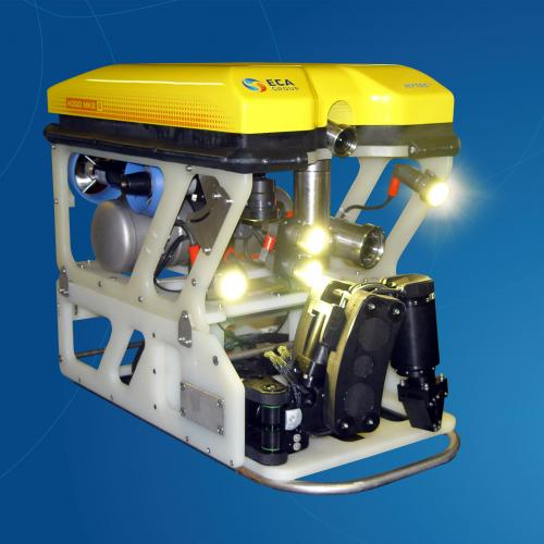 Robotics systems for the offshore oil industry (ELF AQUITAINE, TOTAL)