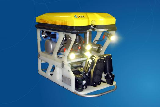 ECA-Group-ROV-H300-MK2-WITH-5-FUNCTION-ELECTRIC-MANIPULATOR-ARM-ON-SKID