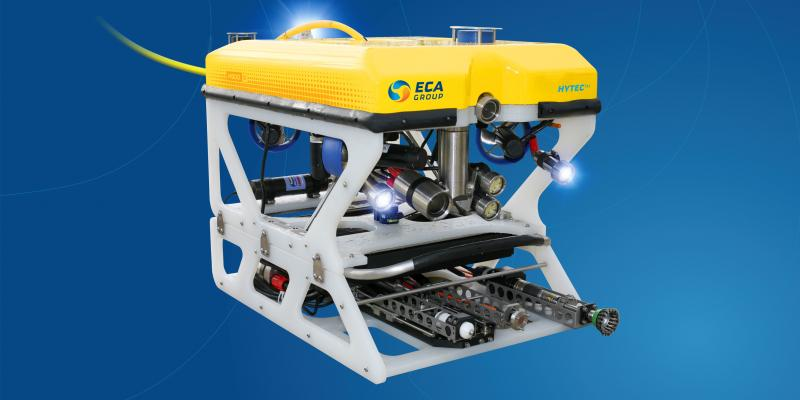 ECA GROUP delivers ROV systems for UWILD offshore underwater works in Argentina