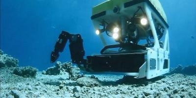 ECA-Group-ROV-H800-WITH-5-FUNCTION-ELECTRIC-MANIPULATOR-ARM-ON-SKID