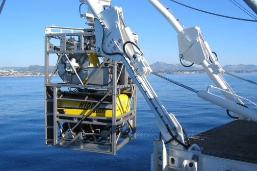 Eca Group ROV H1000 TMS Tether Management System cage