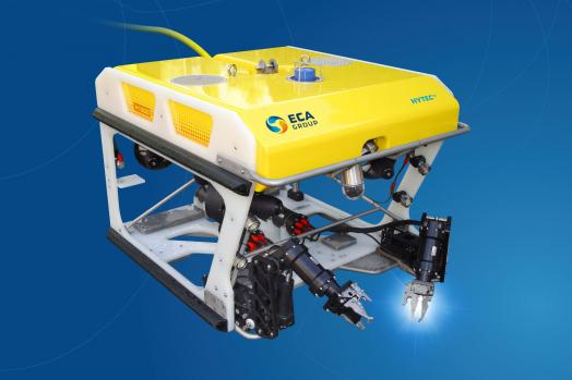 Eca Group ROV H1000 with two electric manipulator arms