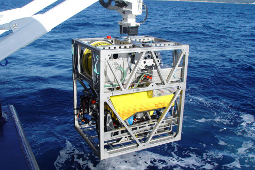 Eca Group ROV H2000 TMS Tether Management System cage