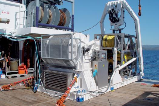 Eca Group ROV H2000 Launch and Recovery System LARS