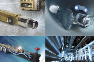 Inspection Robots for Rehabilitation of Water Pipes