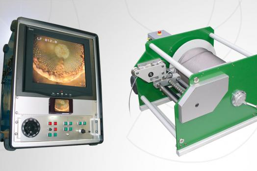 ECA Group BH VIEWER 2000 system for TV inspection of boreholes up 2000 m