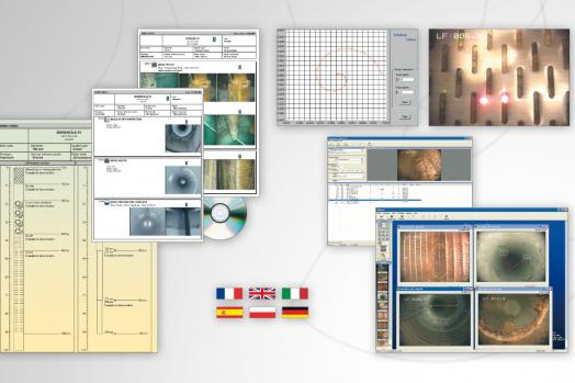 Eca Group FORASOFT software for edition of borehole inspection report