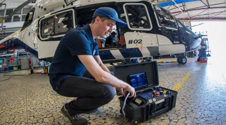 TC200-H160 / Test means / Helicopter electrical test set
