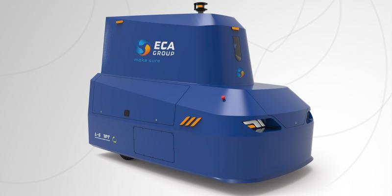 French logistics supplier IDEA has chosen ECA GROUP's Autonomous Guided Vehicle (AGV) indoor and outdoor – a new range of autonomous logistics vehicles to be brought on the market