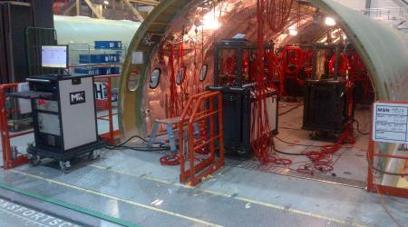 High voltage test solution provided by MK Test Systems