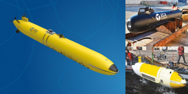 Detection and Classification with AUV