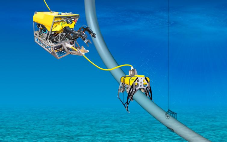 Riser Inspection by ROV