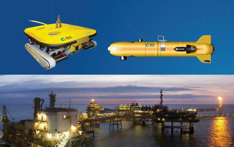 ROV for Platform Protection