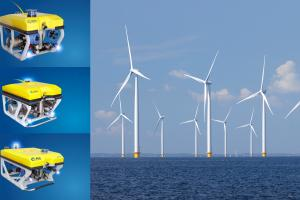 Windfarm Inspection and Monitoring by Rov
