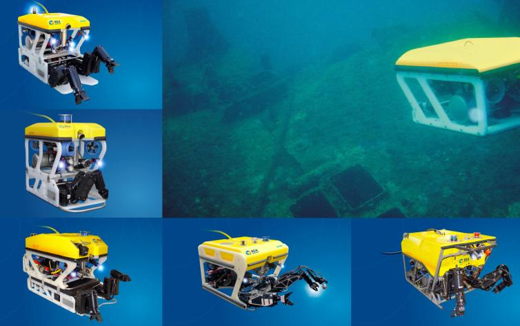 Wreck Expertise Inspection by ROVS