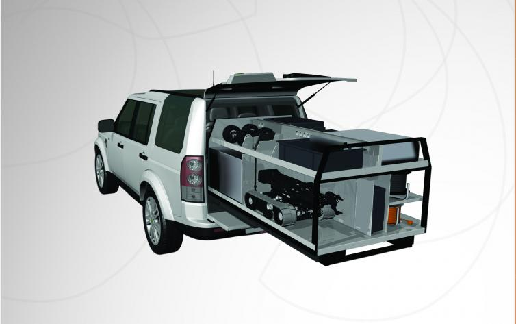 Fully Equipped Ground Intervention Van for Bomb Disposal